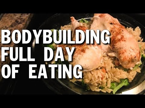 Bodybuilding Full Day of Eating (Lean Bulking)