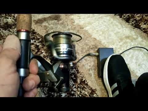 Homemade Electric Fishing Reel