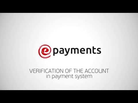 Account verification on ePayments