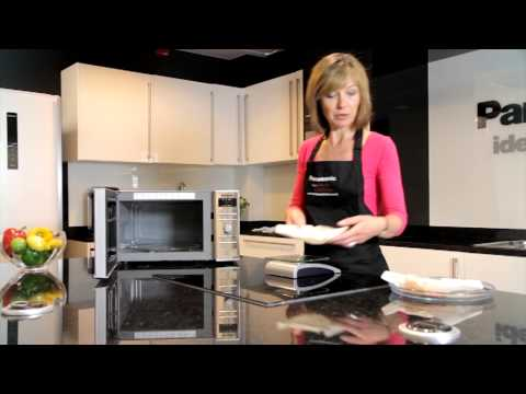 Cooking fish in the Panasonic combination microwave oven