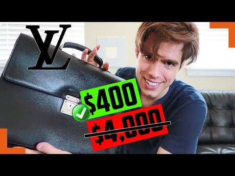 How I Got This Louis Vuitton Business Bag DIRT CHEAP
