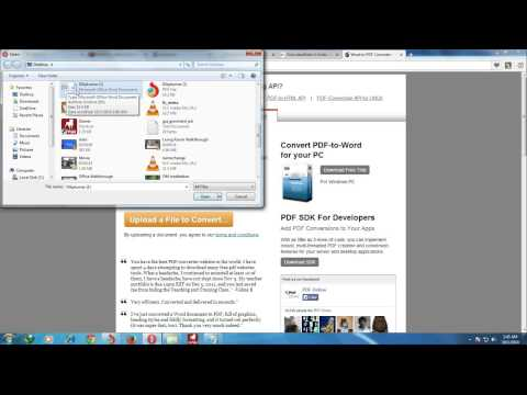 Convert word, excel, power point to pdf in just 30 seconds