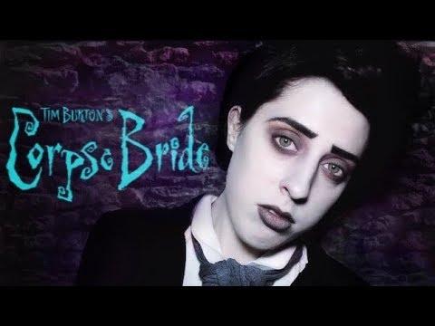 CORPSE BRIDE- Victor Van Dort- Makeup Tutorial