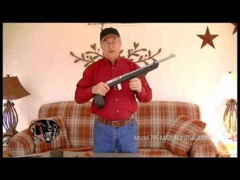 Installation of BADGER M-22 to Marlin Model 795 Rifle with Gary Morris