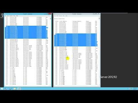 Configure RPC dynamic port in Windows Server 2012 R2