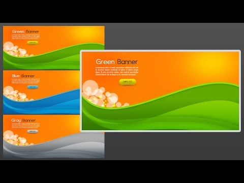 Photoshop Tutorial Web Banner Abstract