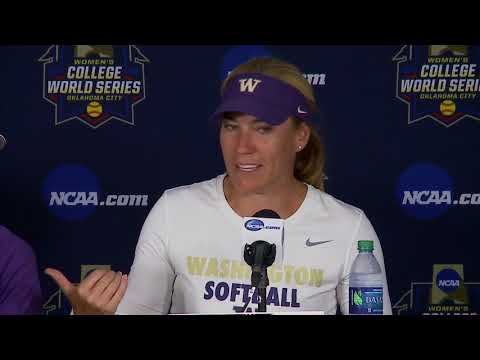 WCWS: Washington falls in opener