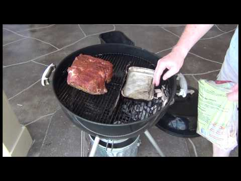 BBQ- How to Smoke a Boston Butt on a Weber Grill