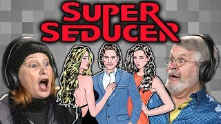 ELDERS LEARN HOW TO FLIRT WITH WOMEN | Super Seducer (React: Gaming)