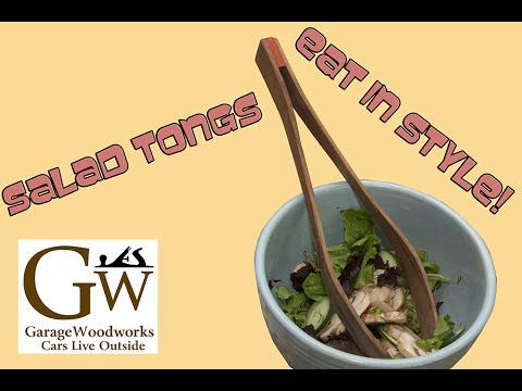Make Salad Tongs