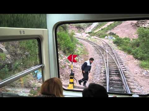 Train Ride from Cusco to Machu Picchu, Peru