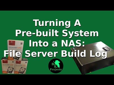 NAS Project: File Server Build Log