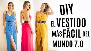 DIY el VESTIDO más FÁCIL del MUNDO 2019