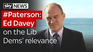 #Paterson: Ed Davey on the Lib Dems