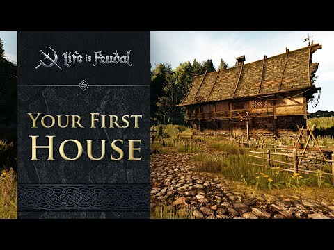 How to Build Your First House - Life is Feudal: MMO