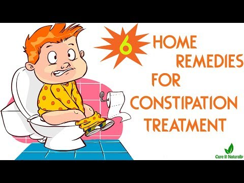 6 Home Remedies for Constipation Treatment | Constipation Treatment at Home | Cure It Naturally