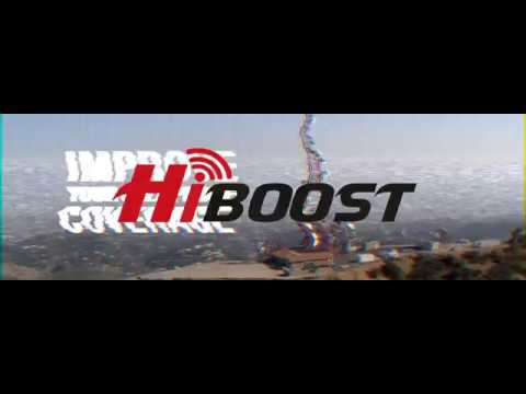 HiBoost Cell Phone Signal Boosters for Vehicles, Homes, Offices, and Large Buildings