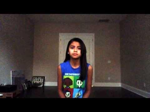 13 year old Singer Jasmine sings Oceans by Hillsong United