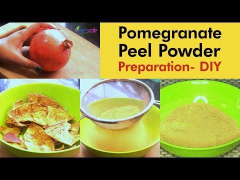 DIY - Prepare Pomegranate Peel Powder at Home