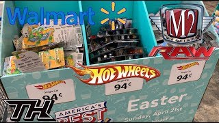 Hot Wheels Easter Dump Bins At Wal-Mart And M2 Machines RAW Chase 😱 Super TH x12