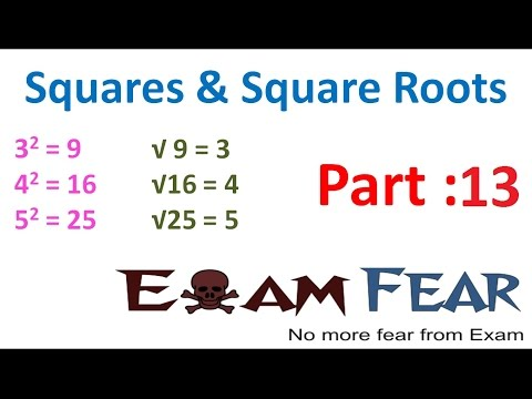 Maths Square and Square Roots part 13 (Pythagorean Triplets) CBSE Class 8 Mathematics VIII