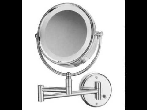 wall mount magnifying makeup mirrors