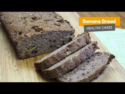 Super healthy BANANA BREAD 🍌 without sugar • Healthy cakes #3