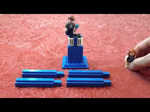 Building a better LEGO Tardis