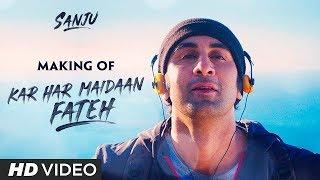SANJU: Kar Har Maidaan Fateh Song Making   Ranbir Kapoor   Manisha Koirala   Rajkumar Hirani