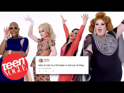 RuPaul's Drag Race Cast Competes in a Compliment Battle | Teen Vogue