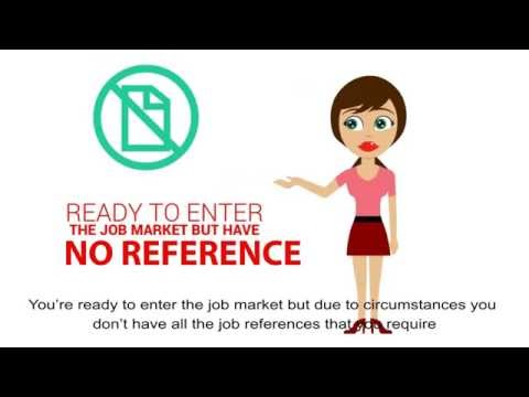 Fake Job Reference - no problem?  Need a reference, hire us!