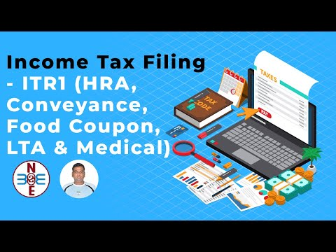 Income Tax Filing - ITR1 (HRA, Conveyance, Food Coupon, LTA & Medical) - bse2nse.com