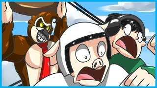 GTA 5 Online Funny Moments! - Donkey Kong Game Mode! (GTA V Gameplay)