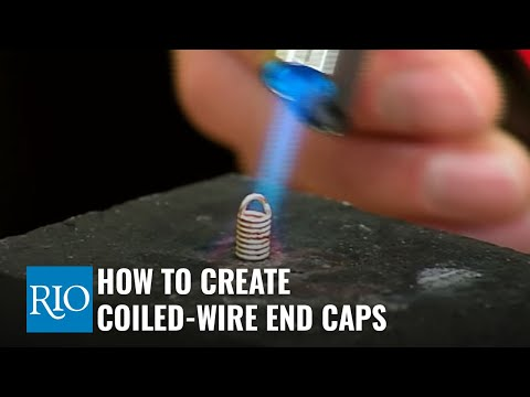 How To Create Coiled-Wire End Caps