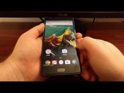 OnePlus 3 Safe Mode