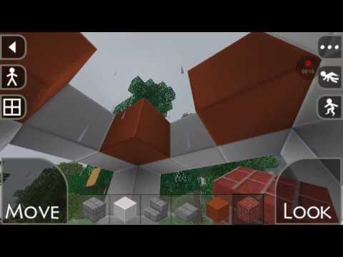 Building a castle in survival craft