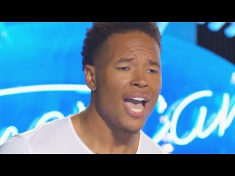 NFL's Marvin Jones Audition for American Idol - Judges are as excited as he is! AI 2018 on ABC