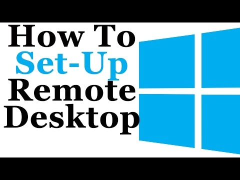 Windows 7 Tutorial - How To Set-Up A Remote Desktop Connection