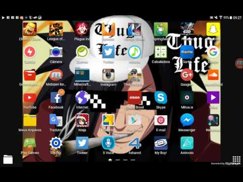 Tuturial de como instalar pokemon fire red no seu tablet e celular