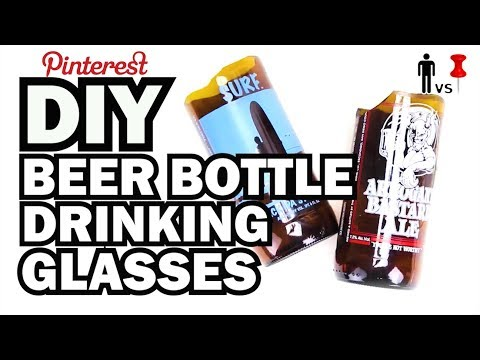 Turn Beer Bottles into Glasses, MAN VS. PIN #8