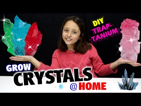 GROW CRYSTALS AT HOME!  DIY Traptanium / Skylanders Fun w/ Sky Girl Lexi  (TRAP TEAM)