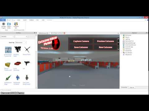 Roblox how to add cutscene to your game