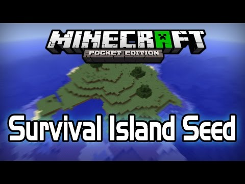 [0.9.2+] Survival Island Seed! Minecraft PE [Pocket Edition]