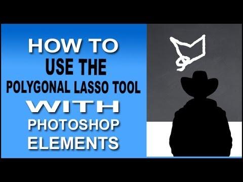Photoshop Elements Polygonal Lasso Tool