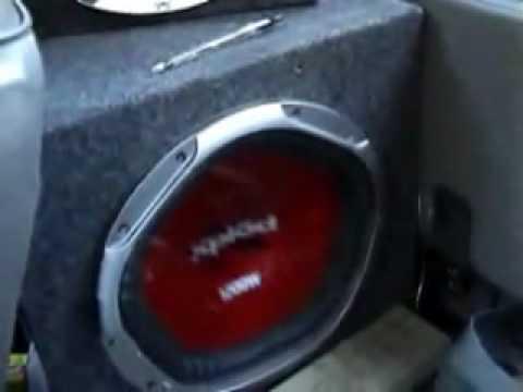12' 1200w Sony Xplod--Massive Excursion