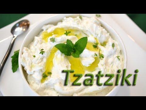 Tzatziki | Cucumber Dip | Greek Yogurt Sauce | Low Carb