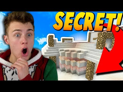 SECRET SHOP YOU WON'T EVER BE ABLE TO ENTER ... ( Minecraft Skyblock )