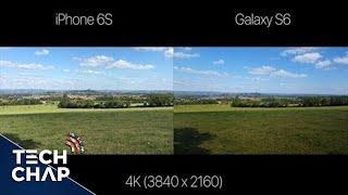 iPhone 6S vs Galaxy S6   4K Video Shootout (Ultra HD 4K)