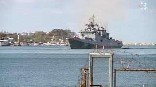 Фрегат «Адмирал Макаров» впервые прибыл в Севастополь — к месту постоянного базирования