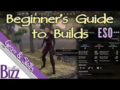 Beginner's Build Guide for ESO - Elder Scrolls Online Build Guide